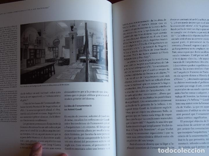 Libros de segunda mano: Gaudí. Art i Disseny - Foto 6 - 167502032