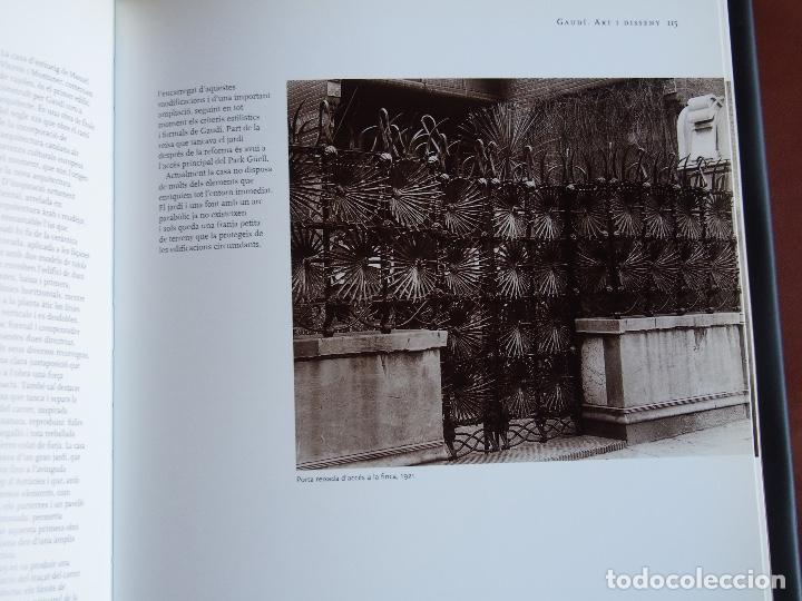 Libros de segunda mano: Gaudí. Art i Disseny - Foto 9 - 167502032