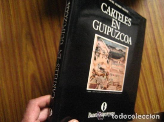 CARTELES DE GUIPUZCOA, AGUIRRE FRANCO (Libros de Segunda Mano - Bellas artes, ocio y coleccionismo - Diseño y Fotografía)