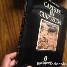 Livres d'occasion: CARTELES DE GUIPUZCOA, AGUIRRE FRANCO. Lote 167662516