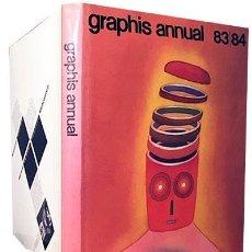 Libros de segunda mano: GRAPHIS ANNUAL 83 / 84 (ANUARIO ARTE GRÁFICO. ILUSTRACIÓN. DISEÑO). Lote 167951464