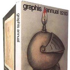 Libros de segunda mano: GRAPHIS ANNUAL 82 / 83 (ARTE GRÁFICO. ILUSTRACIÓN. DISEÑO). Lote 168063984