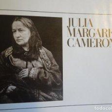 Libros de segunda mano: LOS GRANDES FOTÓGRAFOS, JULIA MARGARET CAMERON. Lote 225316740