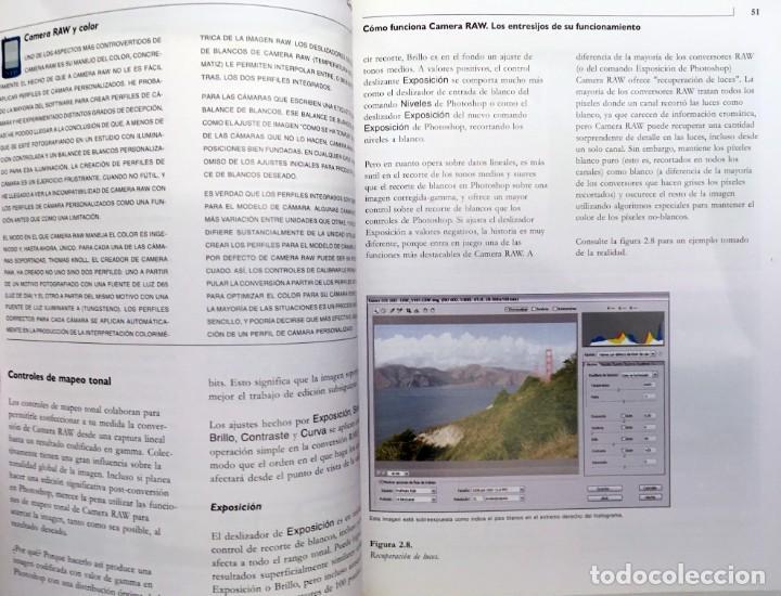 Libros de segunda mano: CAMERA RAW CON PHOTOSHOP CS2 - ANAYA - LIBRO EN ESTADO NUEVO - FOTOGRAFÍA, REVELADO RAW - Foto 5 - 168415980