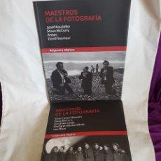 Libros de segunda mano: 2 LIBROS DE MAESTROS DE LA FOTOGRAFIA. Lote 168707848