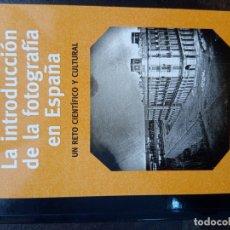 Libros de segunda mano: BERNARDO RIEGO: LA INTRODUCCIÓN DE LA FOTOGRAFÍA EN ESPAÑA. BIBLIOTECA DE LA IMAGEN. Lote 168816676