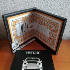 Libros de segunda mano: MINI & ME - LIMITED EDITION BOOK - BMW - MOTOR. Lote 168862800