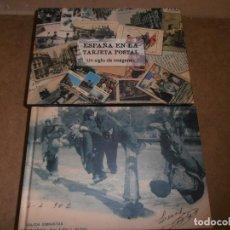 Libros de segunda mano: ESPAÑA EN LA TARJETA POSTAL. UN SIGLO DE IMÁGENES - BERNARDO RIEGO AMEZAGA - CIRCULO DE LECTORES. Lote 169040100