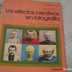 Libros de segunda mano: 2 LIBROS DE FOTOGRAFIA: EFECTOS CREATIVOS DE PAUL DUCKWORTH Y COPIAS EN COLOR DE BOCKSTART CEES. Lote 169884120