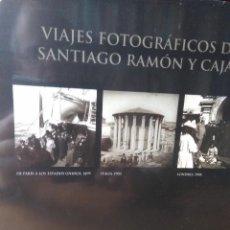 Libros de segunda mano: VIAJES FOTOGRÁFICOS DE SANTIAGO RAMÓN Y CAJAL. 3 TOMOS EN ESTUCHE PRECINTADO. J. A. HERNÁNDEZ LATAS. Lote 152949638