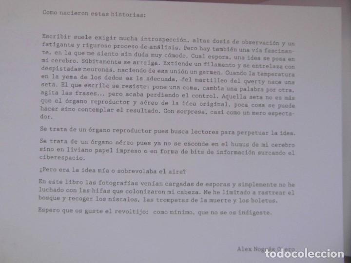 Libros de segunda mano: LA CAMARA DE ESCRIBIR CUENTOS, FOTOS Y MENTIRAS. ALEX NOGUES, NOEMI LOPEZ. DEBIBL - Foto 2 - 170149736