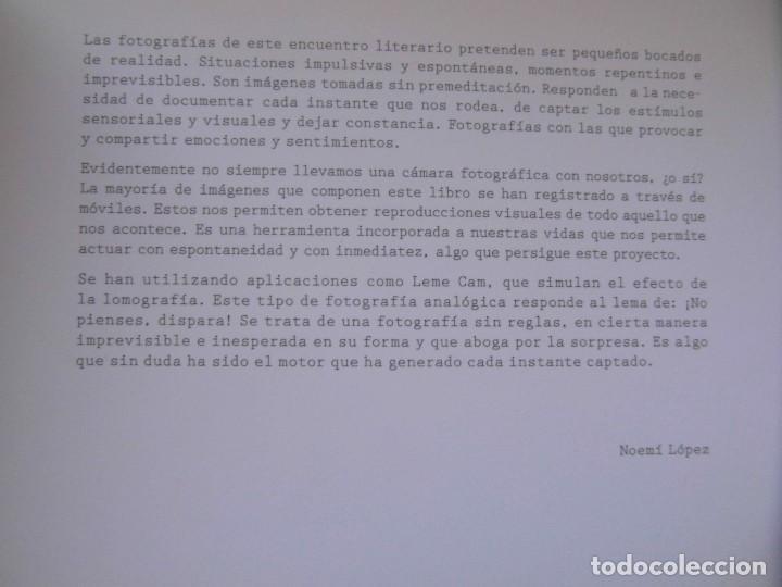 Libros de segunda mano: LA CAMARA DE ESCRIBIR CUENTOS, FOTOS Y MENTIRAS. ALEX NOGUES, NOEMI LOPEZ. DEBIBL - Foto 7 - 170149736