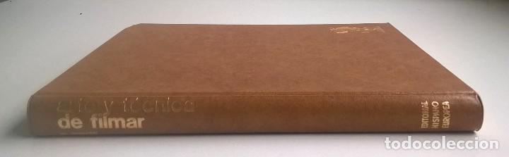 Libros de segunda mano: EL ARTE Y LA TÉCNICA DE FILMAR - MOSE MENOTTI - EDITORIAL HISPANO EUROPEA (BARCELONA) - AÑO 1973 - Foto 7 - 170365984