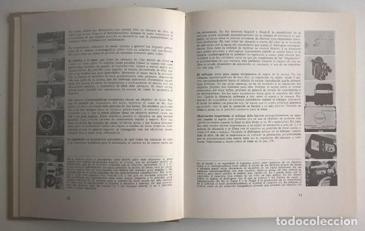 Libros de segunda mano: EL ARTE Y LA TÉCNICA DE FILMAR - MOSE MENOTTI - EDITORIAL HISPANO EUROPEA (BARCELONA) - AÑO 1973 - Foto 9 - 170365984