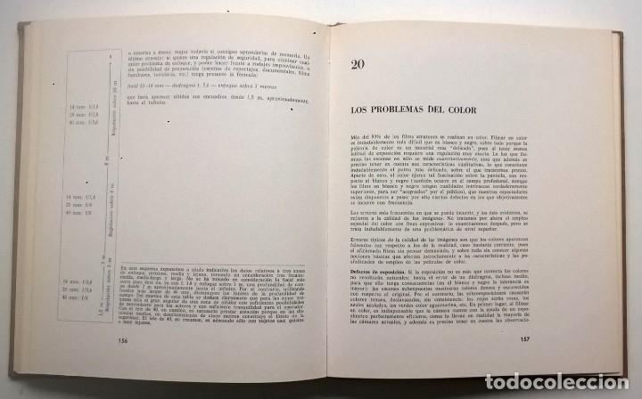 Libros de segunda mano: EL ARTE Y LA TÉCNICA DE FILMAR - MOSE MENOTTI - EDITORIAL HISPANO EUROPEA (BARCELONA) - AÑO 1973 - Foto 20 - 170365984