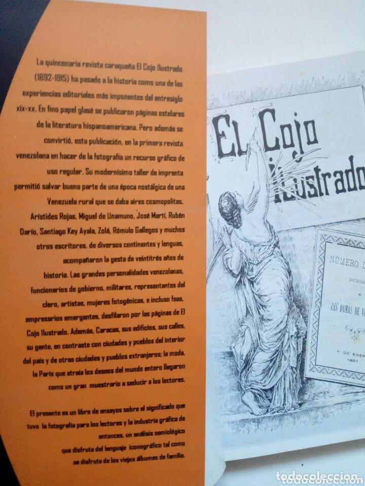 Libros de segunda mano: LA FOTOGRAFIA EN EL COJO ILUSTRADO (Gabriel Gonzalez) - La Burbuja Editorial, 2005 - Venezuela - Foto 2 - 170502244
