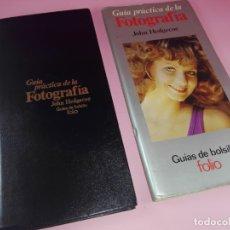 Libros de segunda mano: LIBRO-GUÍA PRÁCTICA DE FOTOGRAFÍA-JOHN HEDGECOE-FOLÍO-1981-VER FOTOS. Lote 171071138