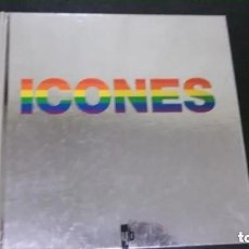 Libros de segunda mano: ICONOS GAYS-MADONNA-AUDREY HEPBURN-MARILYN MONROE-DAVID BOWIE-KATE MOSS-WARHOL-FREDDIE MERCURY-GAY. Lote 195074367