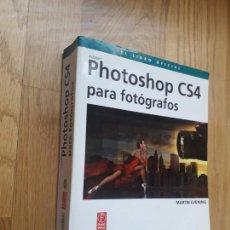 Libros de segunda mano: PHOTOSHOP CS4 PARA FOTÓGRAFOS (INCLUYE CE-ROM) / MARTIN EVENING / EDICIONES ANAYA MULTIMEDIA, 2009. Lote 171245938