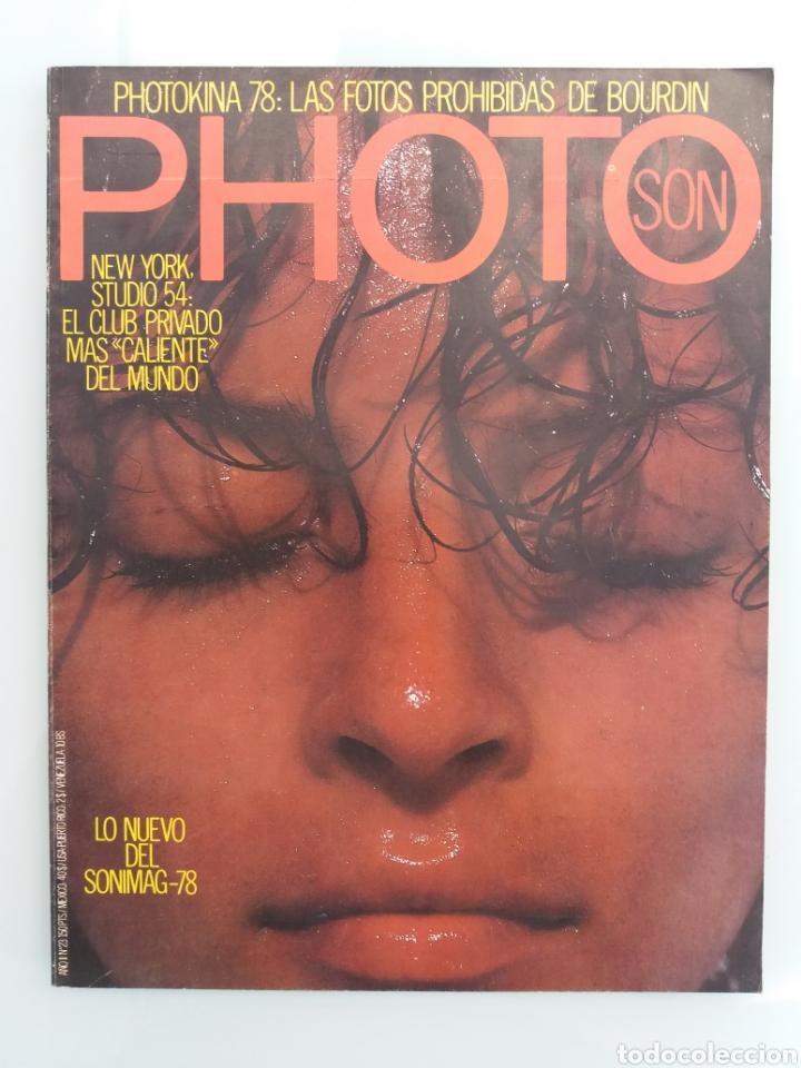 LOTE REVISTAS PHOTO SON. AÑOS 70 (Libros de Segunda Mano - Bellas artes, ocio y coleccionismo - Diseño y Fotografía)