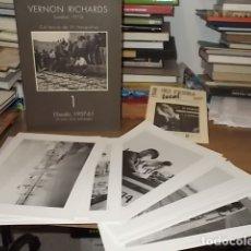 Libros de segunda mano: VERNON RICHARDS. COL·LECCIÓ DE 31 FOTOGRAFIES . L'ESCALA, 1957-61. LA VISIÓ D'UN ESTRANGER. GIRONA. Lote 171989688
