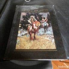 Libros de segunda mano: PRECIOSO LIBRO THE ART OF FRANK C. MCCARTHY ARTISTA DEL FAR WEST GRAN TAMAÑO . Lote 172003438