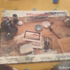 Libros de segunda mano: ESPECTACULAR TOMO III MEMORIA GRAFICA DE MALLORCA ANDREU MUNTANER DARDER 1996 ESPECTACULAR!!!. Lote 172309045