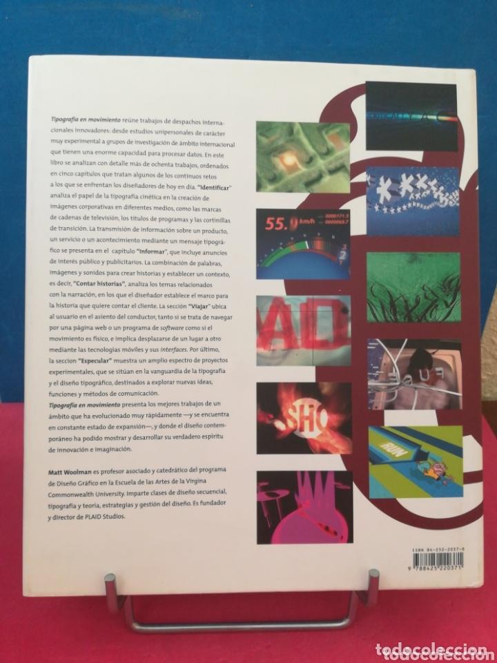 Libros de segunda mano: Tipografía en movimiento - Matt Woolman - GG, 2005 - Foto 3 - 172394090