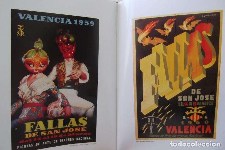 Libros de segunda mano: = LOS CARTELES DE LAS FALLAS EN VALENCIA , AÑOS 1929- 1999 = - Foto 5 - 173198703
