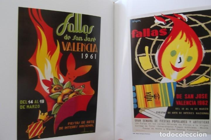Libros de segunda mano: = LOS CARTELES DE LAS FALLAS EN VALENCIA , AÑOS 1929- 1999 = - Foto 6 - 173198703