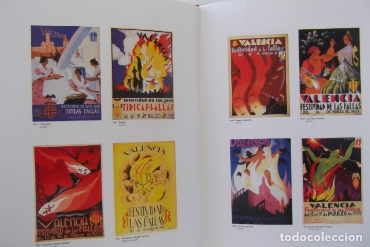 Libros de segunda mano: = LOS CARTELES DE LAS FALLAS EN VALENCIA , AÑOS 1929- 1999 = - Foto 9 - 173198703