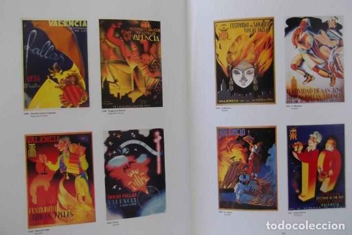 Libros de segunda mano: = LOS CARTELES DE LAS FALLAS EN VALENCIA , AÑOS 1929- 1999 = - Foto 10 - 173198703