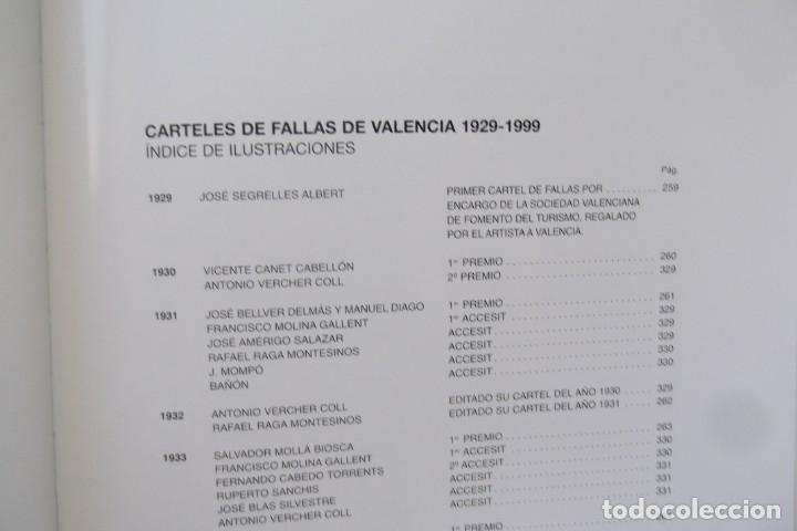 Libros de segunda mano: = LOS CARTELES DE LAS FALLAS EN VALENCIA , AÑOS 1929- 1999 = - Foto 13 - 173198703