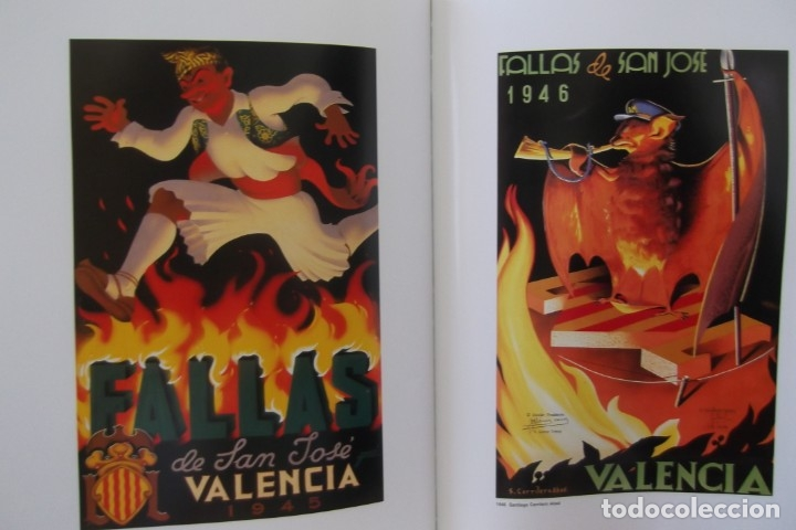 Libros de segunda mano: = LOS CARTELES DE LAS FALLAS EN VALENCIA , AÑOS 1929- 1999 = - Foto 21 - 173198703
