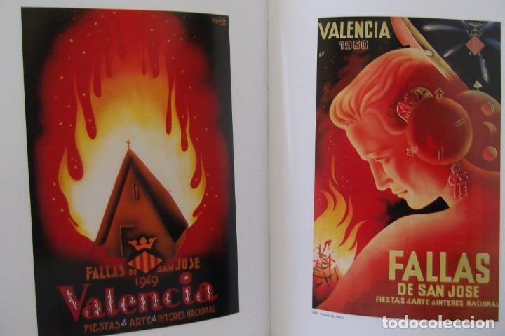 Libros de segunda mano: = LOS CARTELES DE LAS FALLAS EN VALENCIA , AÑOS 1929- 1999 = - Foto 23 - 173198703