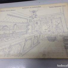 Libros de segunda mano: BOTIGUES DE BARCELONA / ALEXANDRE CIRICI / EDI. LUMEN / 1ª EDICION 1979. Lote 173811699