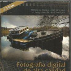 Libros de segunda mano: JOSE MARIA MELLADO. FOTOGRAFIA DIGITAL DE ALTA CALIDAD. PHOTOSHOP CS2. Lote 174467192