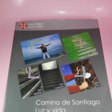 Libros de segunda mano: LIBRO-CAMINO DE SANTIAGO LUZ Y VIDA-2003-XUNTA DE GALICIA-TINO FERNÁNDEZ/VARI CARAMÉS/XURXO LOBATO. Lote 174992134