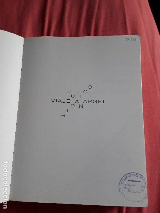 Libros de segunda mano: Viaje a Argel, de Juan Hidalgo. Facsimil, 1992. Ejemplar de biblioteca. Canarias. - Foto 3 - 175231915