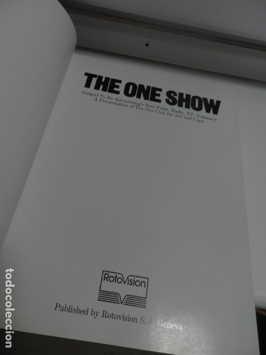 Libros de segunda mano: The one Show.Advertisings best print.Radio.Tv.Vol 8. - Foto 3 - 175876217