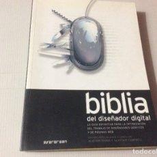 Libros de segunda mano: BIBLIA DEL DISEÑADOR DIGITAL. EDICIÓN DE ALISTAIR DABBS Y ALASTAIR CAMPBELL. TASCHEN. Lote 176224689