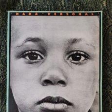Libros de segunda mano: RICHARD AVEDON, JAMES BALDWIN, NADA PERSONAL, BARCELONA, LUMEN, CIRCA 1994.. Lote 176263288
