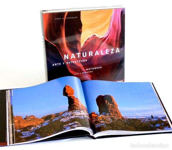 NATURALEZA ARTE Y ESTRUCTURA. NUEVO PRECINTADO. FOTOGRAFÍA GRAN FORMATO (Libros de Segunda Mano - Bellas artes, ocio y coleccionismo - Diseño y Fotografía)