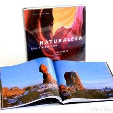 Libros de segunda mano: NATURALEZA ARTE Y ESTRUCTURA. NUEVO PRECINTADO. FOTOGRAFÍA GRAN FORMATO. Lote 176283205
