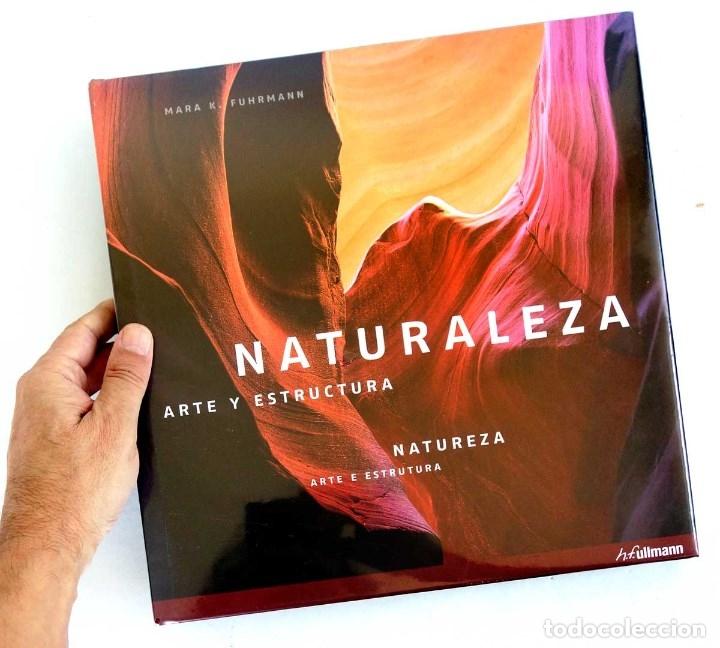 Libros de segunda mano: NATURALEZA ARTE Y ESTRUCTURA. NUEVO PRECINTADO. FOTOGRAFÍA GRAN FORMATO - Foto 2 - 176283205