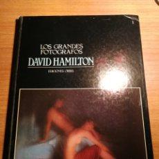 Libros de segunda mano: DAVID HAMILTON. LOS GRANDES FOTOGRAFOS. Lote 176954542