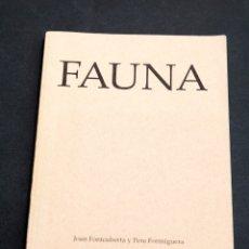 Libros de segunda mano: JOAN FONTCUBERTA - FAUNA - 1ª ED. 1989. Lote 177139617