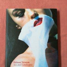 Libros de segunda mano: HELMUT NEWTON - SEX AND LANDSCAPES - LIBRO FOTOGRAFÍA ERÓTICA - TASCHEN. Lote 177401047
