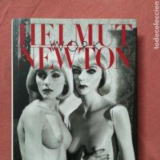 Libros de segunda mano: HELMUT NEWTON - WORK - LIBRO FOTOGRAFÍA ERÓTICA - TASCHEN. Lote 177401545