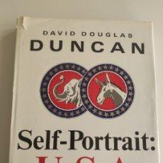 Libros de segunda mano: DAVID DOUGLAS DUNCAN - SELF-PORTRAIT U.S.A.. Lote 177698202